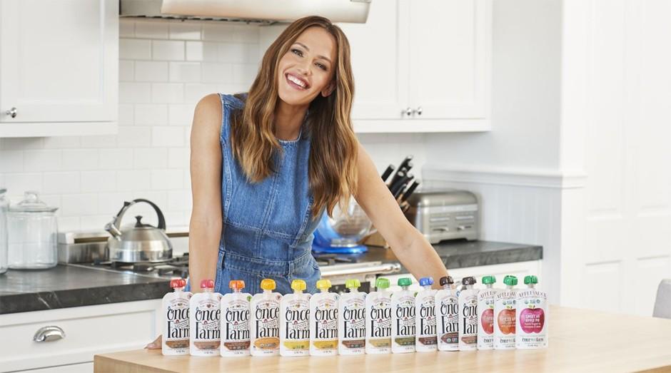 Atriz Jennifer Garner é cofundadora da Once Upon a Farm. O que levou a empreender no mercado de alimentação?